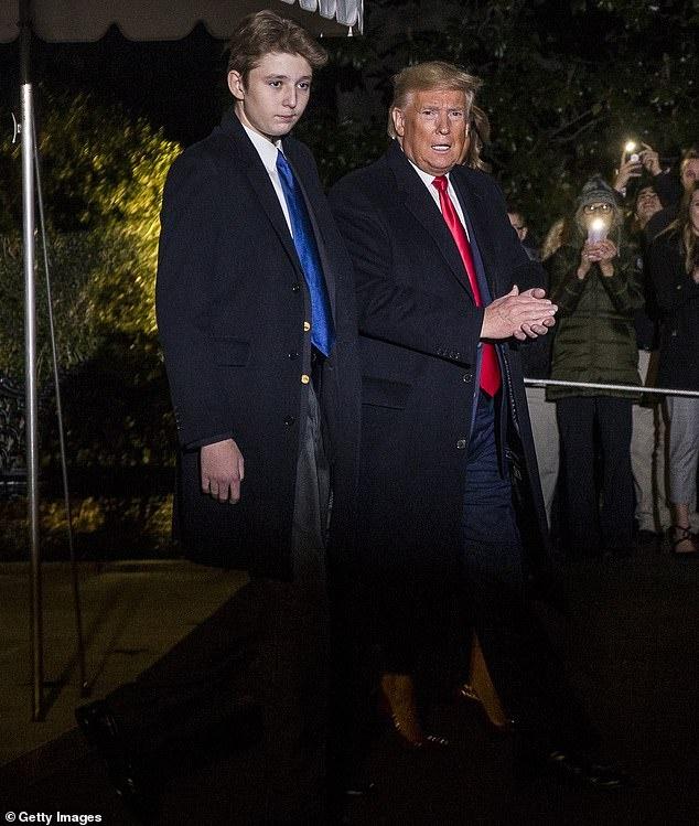 Barron Trump cao gan 2 m o tuoi 14 hinh anh 5 5.jpg