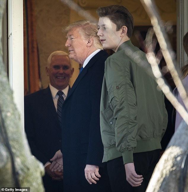 Barron Trump cao gan 2 m o tuoi 14 hinh anh 11 5_2_.jpg