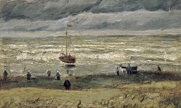 Buc tranh cua Vincent Van Gogh bi danh cap o bao tang hinh anh 2 canh_bien_15555745289462018757516.jpg