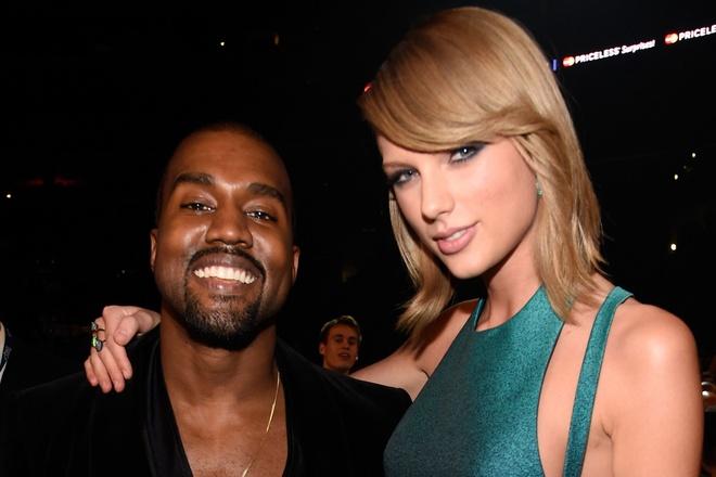 Taylor Swift va  Kanye West anh 1