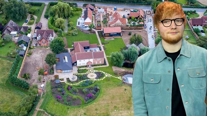 Ed Sheeran trong rung anh 1