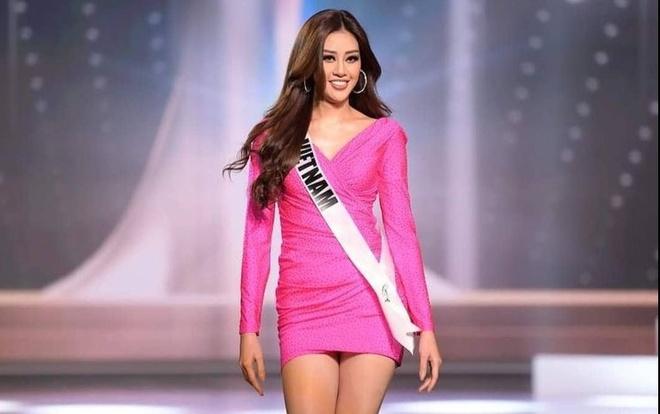 Khanh Van chung ket Hoa hau Hoan vu Miss Universe anh 2