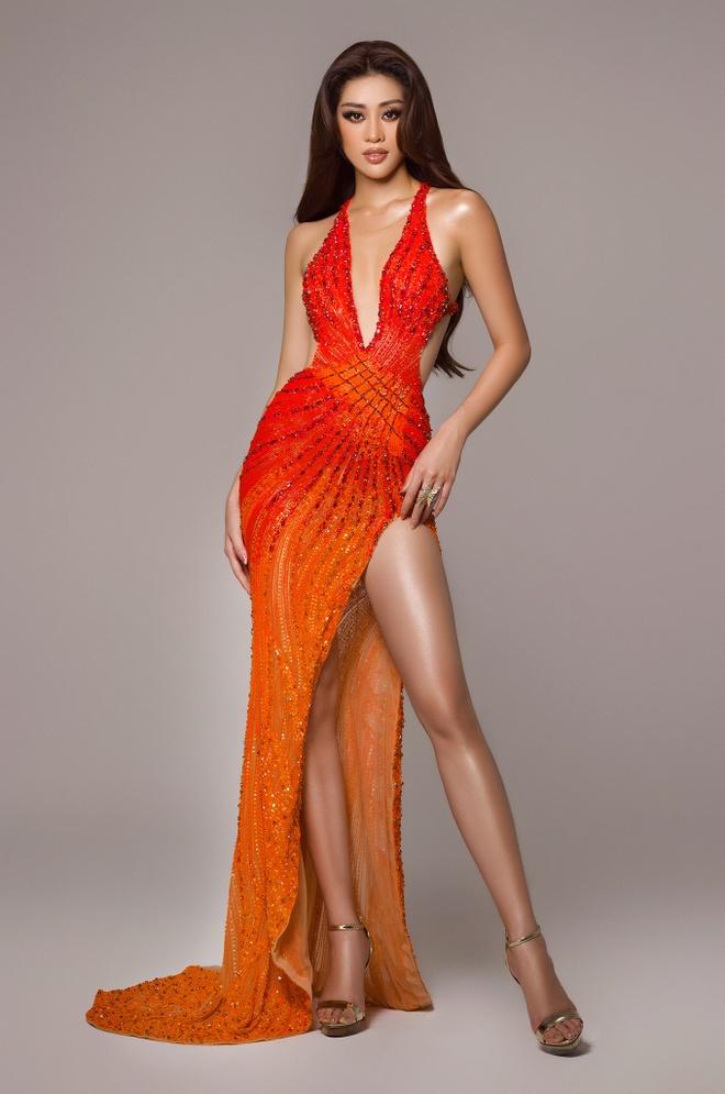 Khanh Van chung ket Hoa hau Hoan vu Miss Universe anh 4