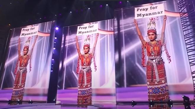 Khanh Van chung ket Hoa hau Hoan vu Miss Universe anh 13