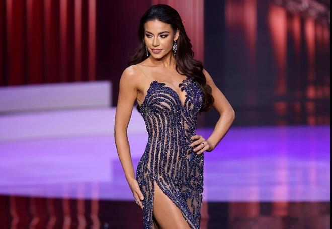 Khanh Van chung ket Hoa hau Hoan vu Miss Universe anh 14