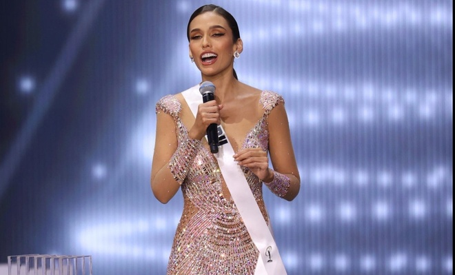Khanh Van chung ket Hoa hau Hoan vu Miss Universe anh 18