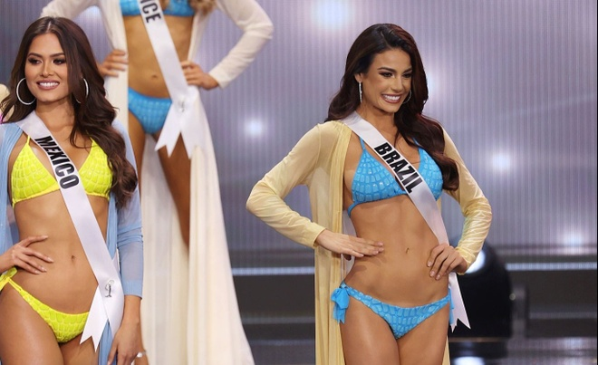 Khanh Van chung ket Hoa hau Hoan vu Miss Universe anh 11
