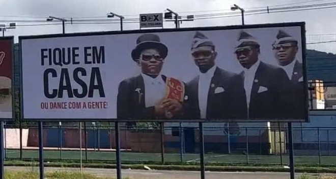 Nhom vu cong ho tang Ghana tro thanh guong mat tuyen truyen phong dich hinh anh 3 IMG_20200416_120748.jpg
