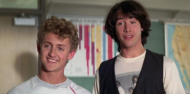 'Thanh xuan' cua Keanu Reeves va Tom Cruise tro lai man anh hinh anh 1 bill_and_ted_have_a_major_history_project_to_do_in_bill_teds_excellent_adventure.jpeg