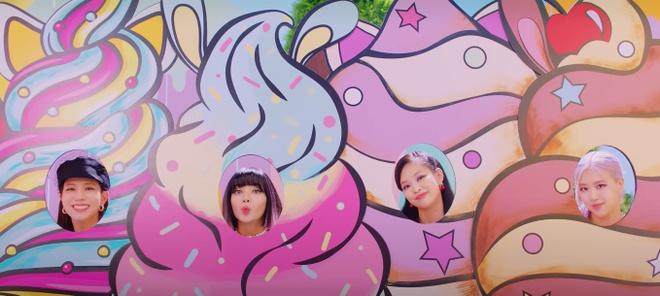 Ice Cream Black Pink anh 2