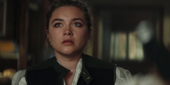 Florence Pugh trong 'Black Widow' anh 1