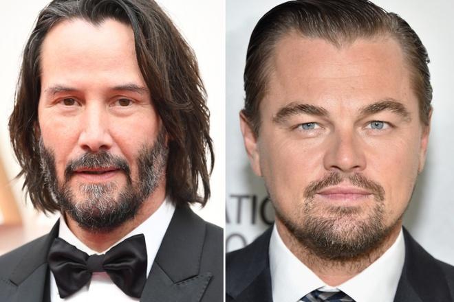 Leonardo DiCaprio va Keanu Reeves anh 1