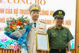 Bo nhiem pho giam doc Cong an Ha Noi. anh 1