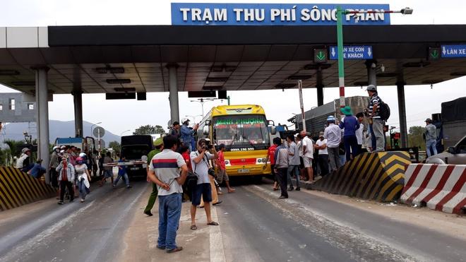 Binh Thuan lai de nghi mien, giam phi qua BOT Song Phan hinh anh 1