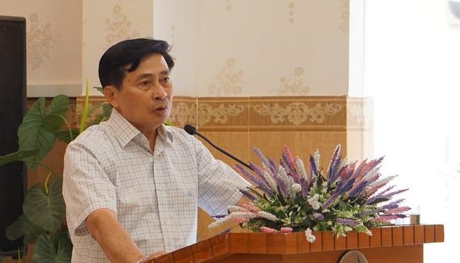 De xay ra gay roi, nguyen Giam doc Cong an Binh Thuan bi kiem diem hinh anh