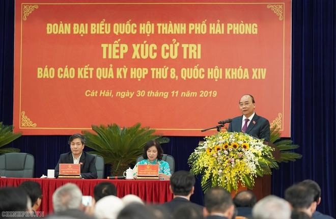 Thu tuong Nguyen Xuan Phuc tiep xuc cu tri o hai phong anh 3