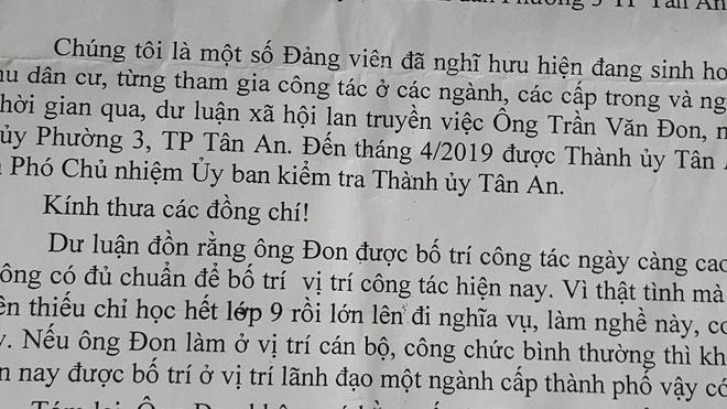 Pho chu nhiem Uy ban Kiem tra Thanh uy khong co bang cap 3 hinh anh 1 20191212-133152-1576311272-width1004height565.jpg