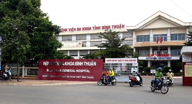 Suc khoe 9 nguoi nhiem Covid-19 tai Binh Thuan tien trien tot hinh anh 1 benh_vien_binh_thaunj.jpg