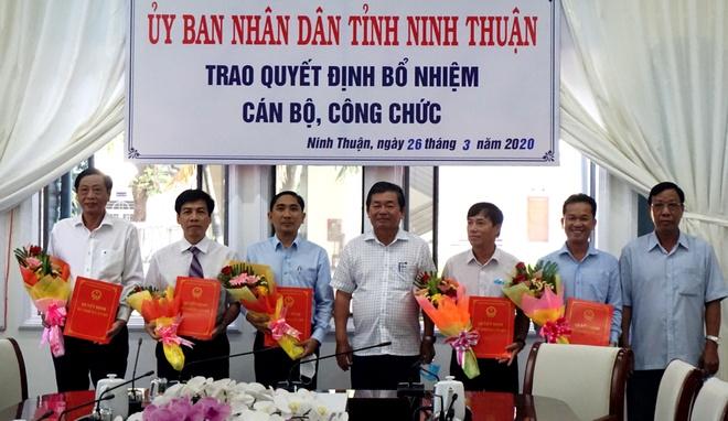 Ninh Thuan bo nhiem 3 giam doc so hinh anh 1 DSC06540.JPG