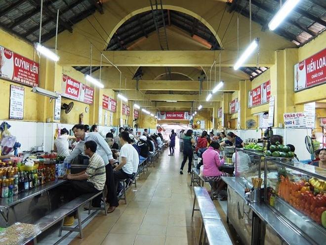 Theo chan tho dia Da Nang ghe cho Con an vat hinh anh 1 Chợ Cồn là chợ lớn nhất và nằm ở trung tâm thành phố Đà Nẵng. Ảnh: Thiện Nguyễn