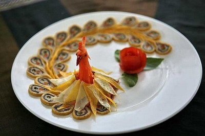 Com vua o Hue: khong khac gi com Tay? hinh anh 2 Những món ăn cung đình nổi tiếng không chỉ bởi hương vị mà còn bởi cách trình bày. Ảnh: violet.vn