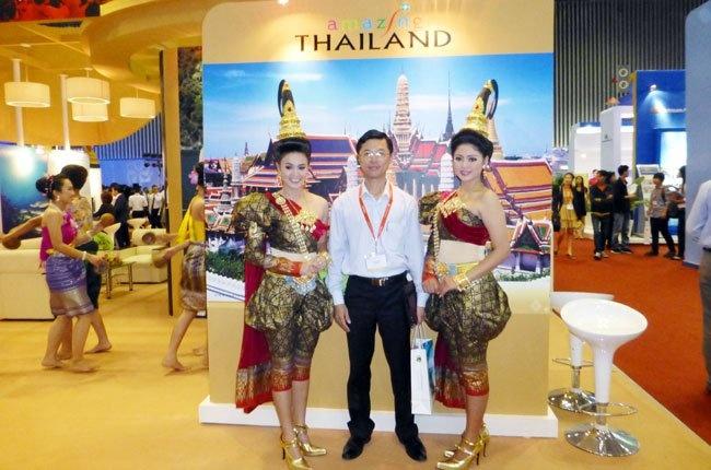 Thai Lan da lam gi de hut du lich? hinh anh 2 Du lịch Thái Lan quảng bá hình ảnh tại TPHCM - Ảnh: Đào Loan