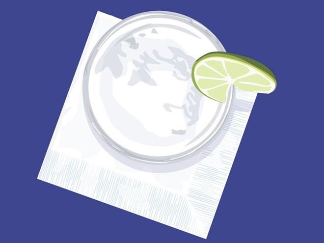 Mua gi voi 100.000 dong o 12 nuoc tren the gioi? hinh anh 11 Cartagena, Colombia: Một ly Limonada de Coco (một loại sinh tố không cồn đặc trưng của Cartagena, được làm từ chanh và dừa) tại quầy rượu của  khách sạn Sofitel Santa Clara.