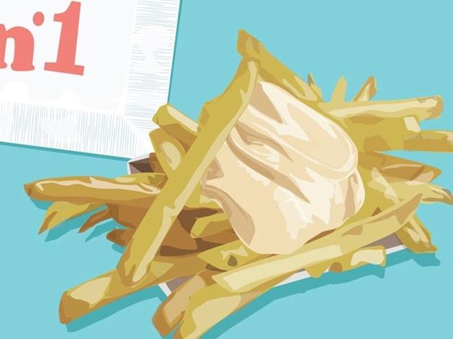 Mua gi voi 100.000 dong o 12 nuoc tren the gioi? hinh anh 12 Antwerp, Bỉ: Một khẩu phần khoai tây chiên ngon không tả nổi (mềm như bông ở bên trong, giòn bên ngoài) từ Frituur số 1, ngay ở khu Groenplaats.