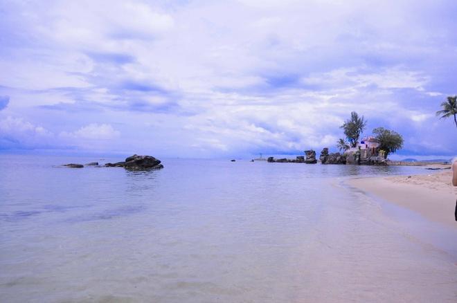 Bãi biển Dinh Cậu, một bức tranh thật sự của đảo ngọc