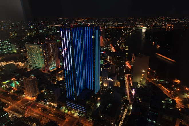 The Reverie Saigon vao top 11 khach san cua nam 2015 hinh anh 1 Khách sạn The Reverie Saigon - nằm trong tòa nhà cao 39 tầng mang tên Quảng Trường Thời Đại - Ảnh: skyscrapercity.com