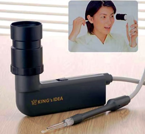 Nhung dieu la lung o Nhat Ban hinh anh 11 Dụng cụ lấy ráy tai: Phát minh này của người Nhật giúp chúng ta có thể nhìn thấy bên trong tai mình và lấy được ráy tai ra một cách dễ dàng.