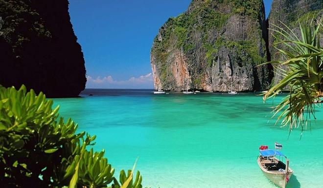 """7 dieu la lung o Thai Lan hinh anh 7 Thái Lan có 1.430 hòn đảo: Trong đó có nhiều hòn đảo du lịch nổi tiếng. Đảo Koh Phi Phi đã từng xuất hiện trong phim """"The Beach"""" của Danny Boyle."""