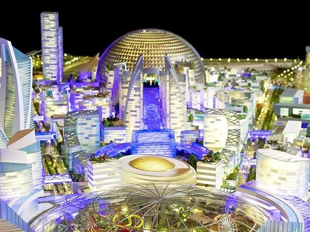 Thành phố kiểm soát khí hậu: Dubai  đang lên kế hoạch xây dựng một tiểu thành phố kiểm soát khí hậu với diện tích 4.450 m2, gồm nhiều khách sạn, khu mua sắm và vui chơi được nối bởi các tuyến đường khép kín có điều hòa.