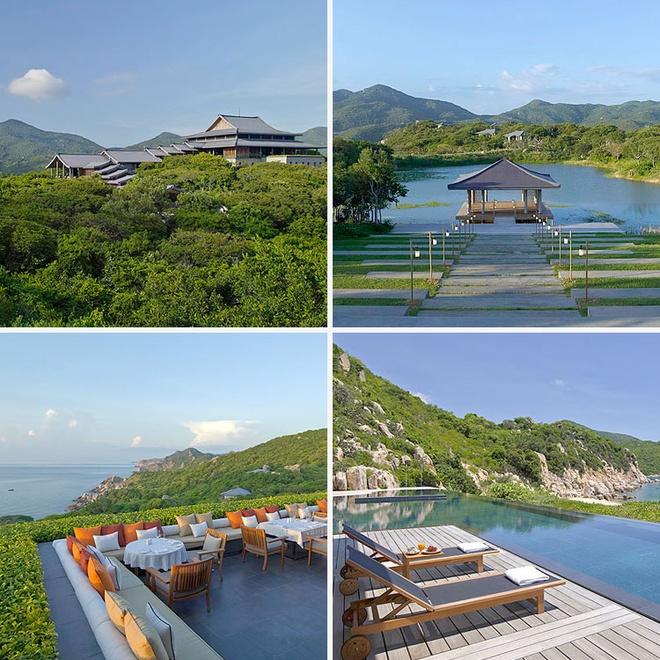 10 resort Viet sieu sang lam khach Tay me met hinh anh 12 Amano'i, Vĩnh Hy: Khu nghỉ dưỡng tuyệt đẹp nằm cách thành phố Phan Rang 36 Km về phía đông này được tạp chí Forbes coi là một trong những yếu tố khiến Việt Nam trở thành quốc gia đáng đến trong năm 2015. Với kiến trúc kết hợp giữa cổ điển và hiện đại, Amano'i cho du khách đắm mình vào không gian thiền định, bình yên với những tiện ích sang trọng, đẳng cấp.