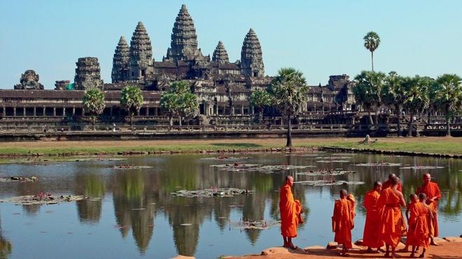 Du lich chau A chi voi 600.000 dong mot ngay hinh anh 14 Siem Reap, Campuchia: Tại đây có Ankor Wat, di tích nổi tiếng thế giới của đế chế Khmer. Thành phố này có đầy đủ mọi thứ một du khách cần như quán rượu, hiệu sách, nhà nghỉ... với chi phí cơ bản khoảng 600.000 đồng một ngày.