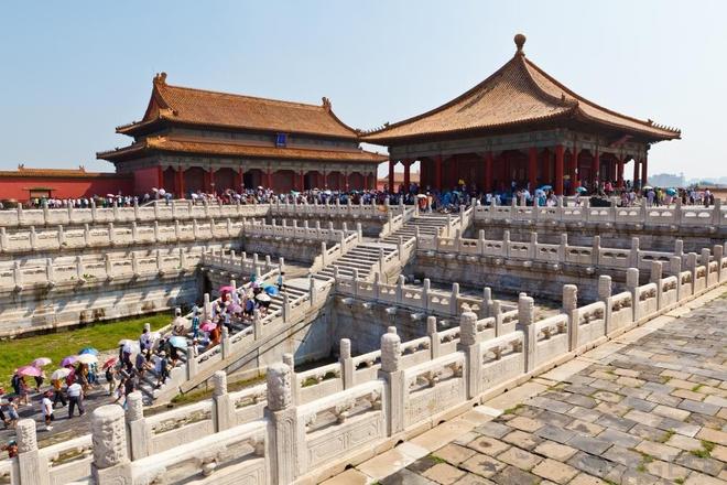 2. Tử Cấm Thành được UNESCO công nhận là di sản thế giới vào năm 1987 và là quần thể cổ bằng gỗ lớn nhất thế giới.
