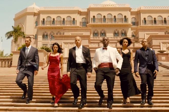 Doan lam phim 'Fast & Furious 7' me met Abu Dhabi hinh anh
