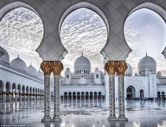 Dai thanh duong long lay bac nhat Abu Dhabi hinh anh