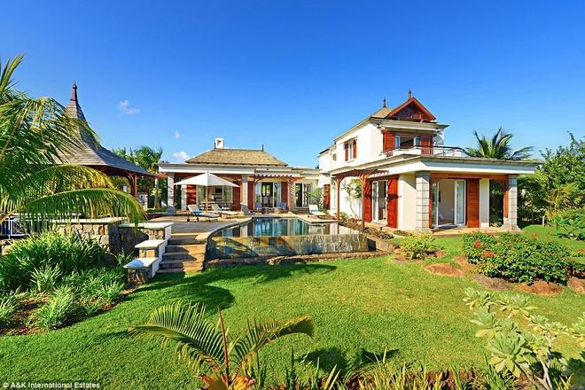 Nhung biet thu nghi duong danh cho gioi sieu giau hinh anh 9 Villas Valriche: Với những người muốn một địa điểm hấp dẫn hơn, khu biệt thự Villas Valriche ở Domain del Bel Ombre, Mauritius là một lựa chọn hoàn hảo.