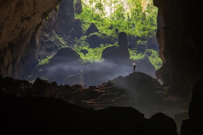 Nhung dia danh Viet duoc nuoc ngoai vinh danh hinh anh 2 Các hãng truyền thông lớn như National Geographic, Telegraph, Daily Mail đều đã có bài viết, ảnh và video về khung cảnh đẹp siêu thực trong hang Sơn Đoòng.
