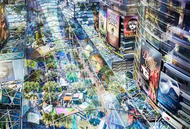 Dubai xay thanh pho mat ruoi giua sa mac hinh anh 2 Khu tổ hợp có diện tích lên tới 4,4 triệu m2 này sẽ nằm trong thành phố Mohammad Bin Rashid.