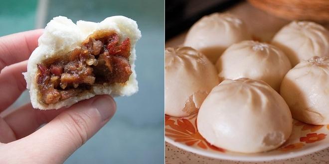 20 mon an nhin la them o Hong Kong hinh anh 1 Cha Siu Baau (Bánh bao xá xíu): Lớp vỏ xốp mềm bọc ngoài nhân xá xíu mặn ngọt khiến du khách ăn mãi không chán. Cắn một miếng bánh nóng, bạn sẽ thấy yêu Hong Kong hơn rất nhiều.