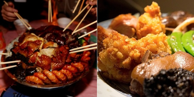 20 mon an nhin la them o Hong Kong hinh anh 11 Poon Choi (Lẩu khô): Với nguyên liệu đa dạng từ hải sản tới các loại thịt được chế biến và bày vào một thố lớn, Poon Choi là món ăn hấp dẫn phù hợp với nhiều khẩu vị, sở thích.
