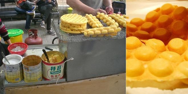 20 mon an nhin la them o Hong Kong hinh anh 17 Gai Daan Jai (Bánh quế trứng): Được bày bán trên những con phố khắp Hong Kong, Gai Daan Jai hấp dẫn du khách với vị trứng đậm đà và giòn tan.