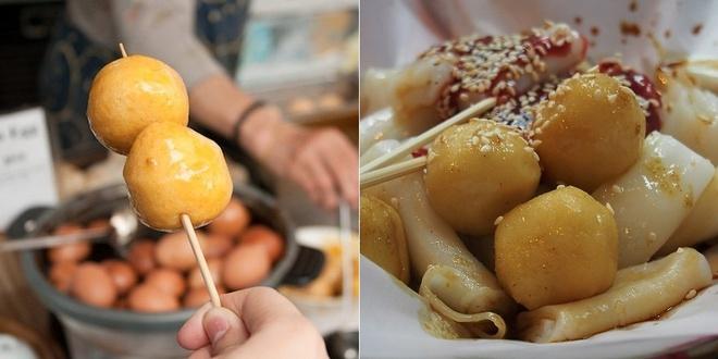 20 mon an nhin la them o Hong Kong hinh anh 2 Yu Dan (Cá viên): Thường được làm từ cá tuyết và chấm với một loại sốt cay đặc biệt, Yu Dan là món bạn không nên bỏ qua ở các chợ đêm.