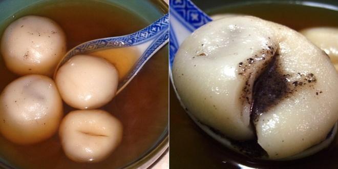 20 mon an nhin la them o Hong Kong hinh anh 6 Tong Jyun (Bánh trôi tàu): Những viên bánh nhân vừng đen ngọt ngào được thả trong nước dùng ngọt ngọt, cay cay là món ăn lý tưởng cho những ngày mát trời lang thang ở Hong Kong.