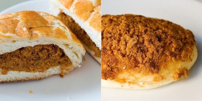 20 mon an nhin la them o Hong Kong hinh anh 7 Yuk Song Bao (Bánh bao chà bông): Loại bánh bao này có nhân là thịt heo xay nhuyễn như ruốc và món ăn hoàn hảo cho bữa sáng.
