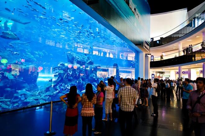 Vi sao du khach khong muon roi Dubai? hinh anh 8 Những trung tâm mua sắm: Có lẽ Dubai là nơi duy nhất trên thế giới mà bạn có thể ở cả ngày trong siêu thị mà không thấy chán. Dubai Mall có đủ các loại hình giải trí, dịch vụ ăn uống, mua sắm... phục vụ du khách. Ảnh: Photoree.