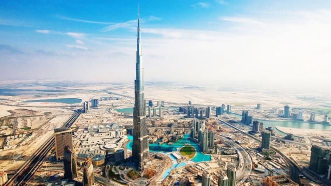 Nhung cong trinh nhin la nhan ra Dubai hinh anh
