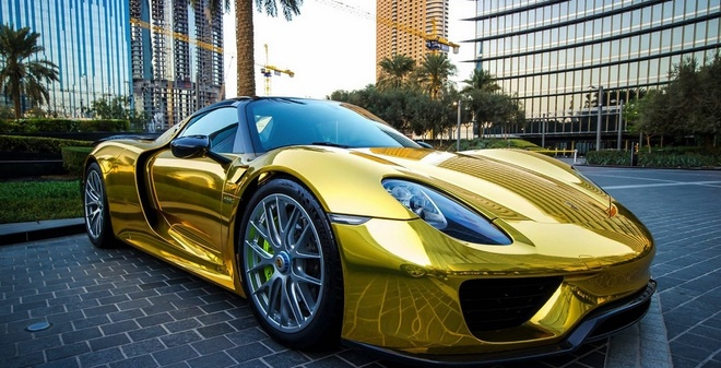 Dubai - giac mo cua nhung du khach cuong sieu xe hinh anh